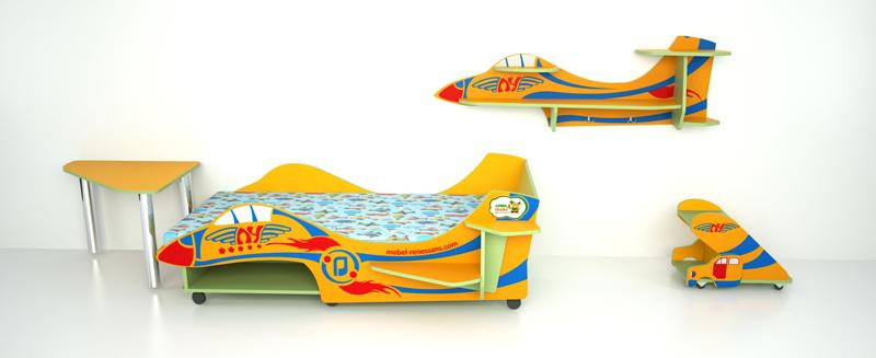 Детская самолет