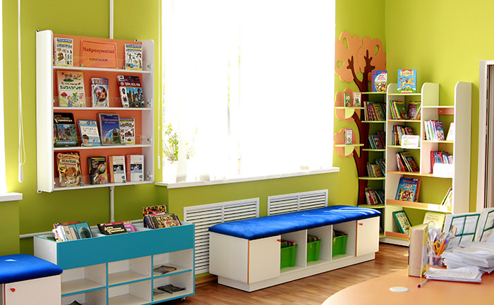 Детская библиотека Тетрис 1