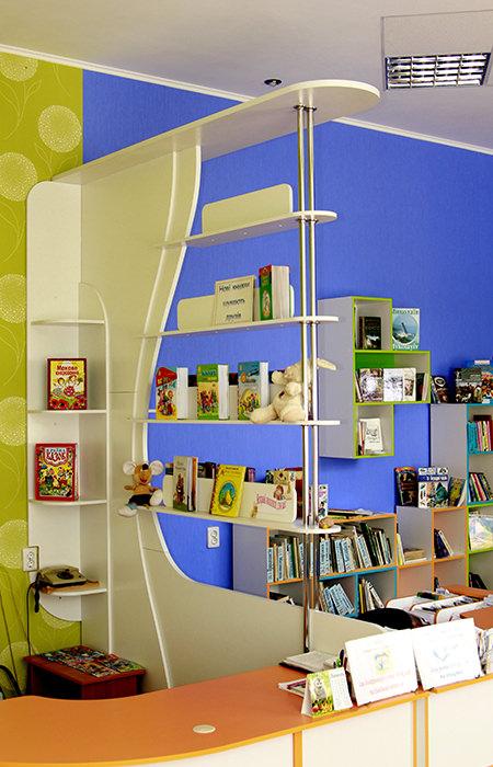 Детская библиотека Тетрис 7
