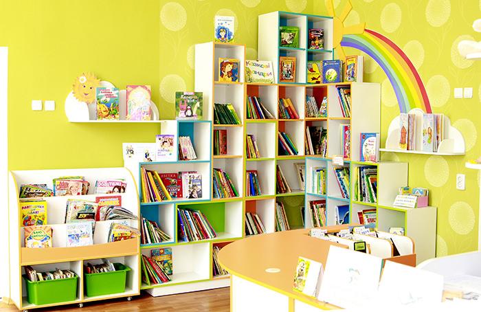 Детская библиотека Тетрис 2