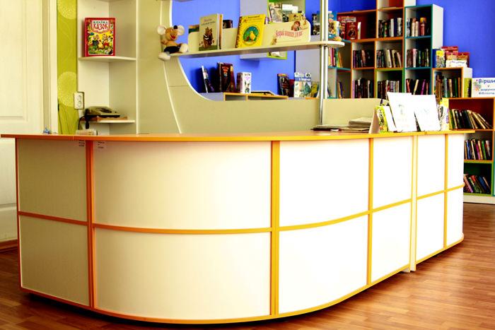Детская библиотека Тетрис 4