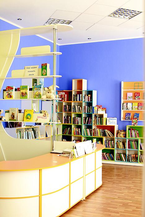 Детская библиотека Тетрис 6