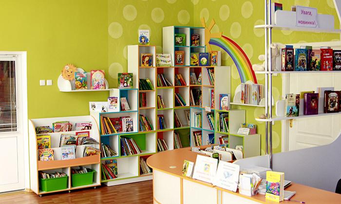 Детская библиотека Тетрис 3