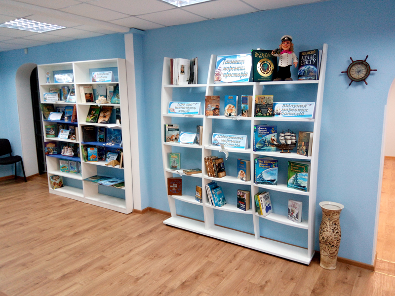 Мебель для библиотек в морском стиле 1