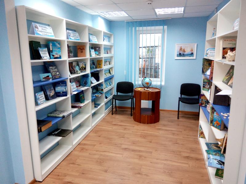 Мебель для библиотек в морском стиле 3