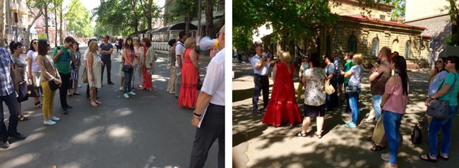 прогулка по центру Николаева