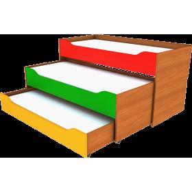 Кровать раздвижная трехместная
