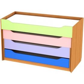 Кровать раздвижная четырехместная