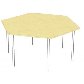 Стол шестигранный