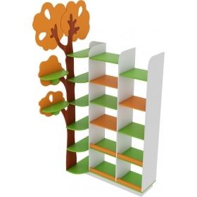 Стеллаж угловой «Дерево»