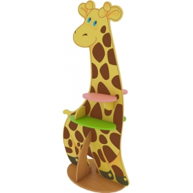 Стеллаж «Жираф» (с наклейкой из оракала)
