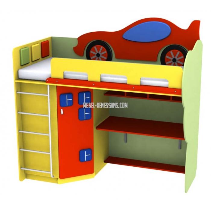 Детская кровать-стол от фабрики Ренессанс