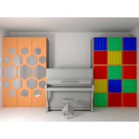 Музичний клас, шафи для інструментів