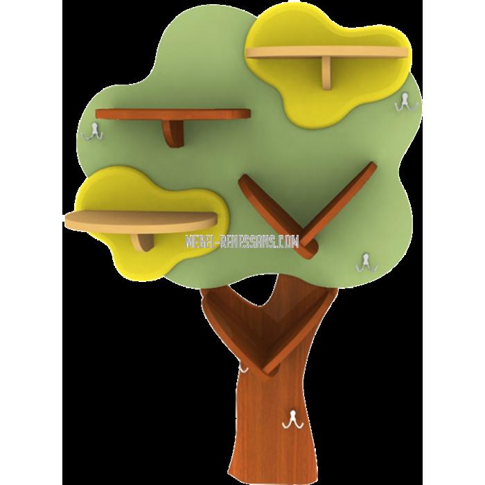 Полка-деревце Малый Дубок