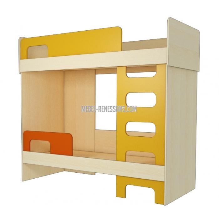 Модульная двухъярусная кровать в подростковую комнату