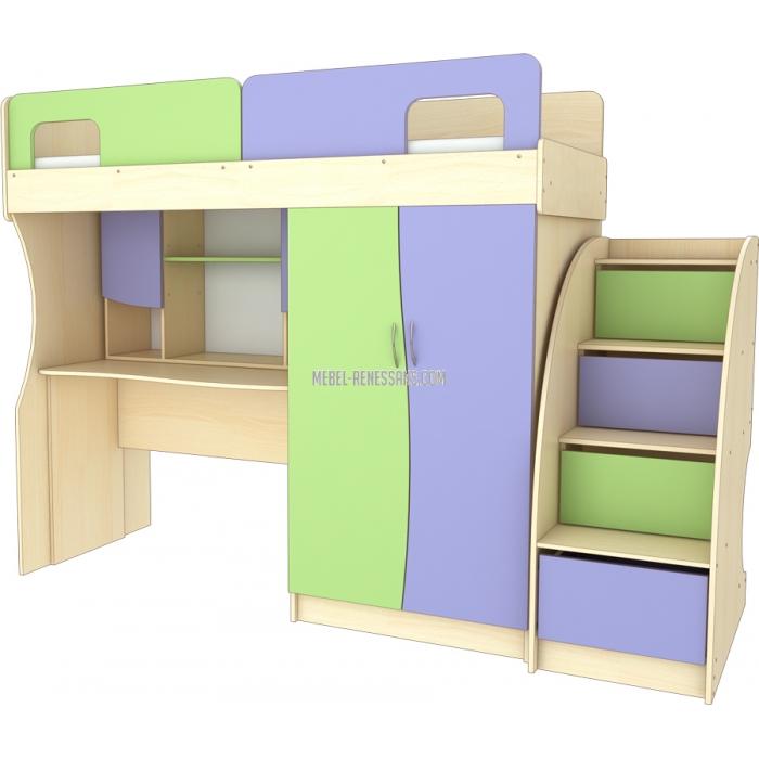 Детская кровать-шкаф от Ренессанс