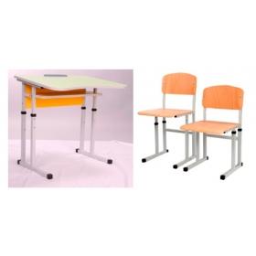 Комплект парта і стільці 1