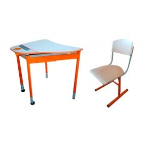 Комплект парта і стільці 4