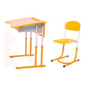 Комплект парта і стільці 5