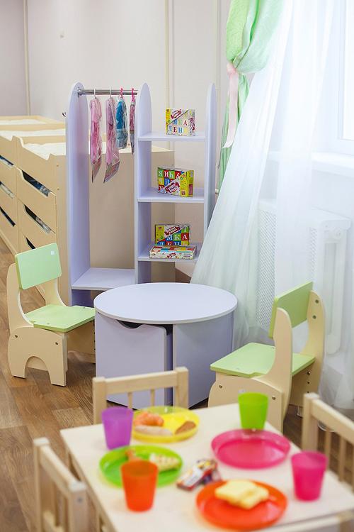 Мебель для ирг малышей в детский сад