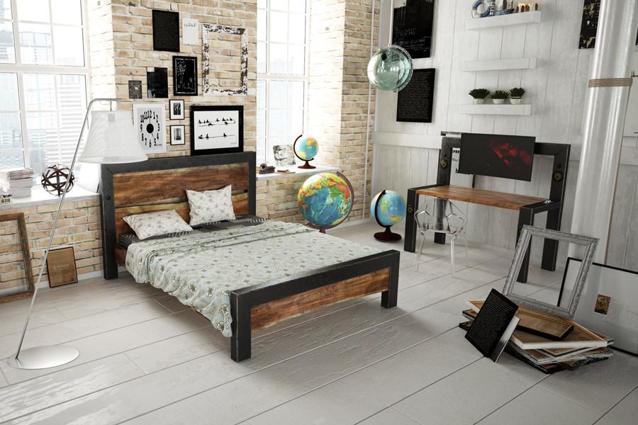 Изделие-прототип коллекции INDUSTRIAL - спальня на заказ