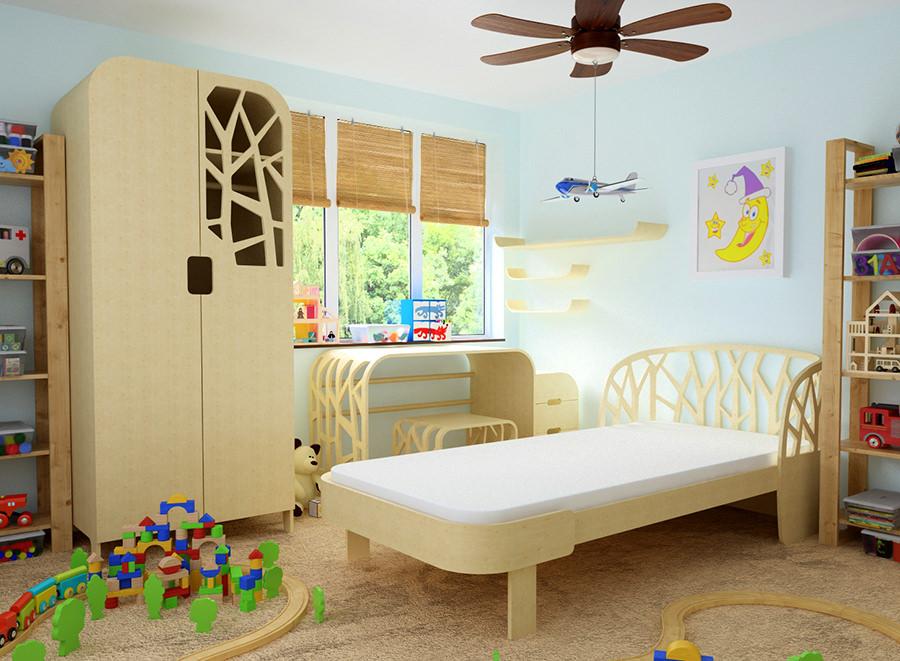 Мебель из фанеры - детская комната на заказ