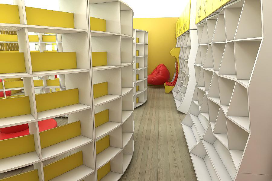 Мебель для библиотек на заказ в Украине 2