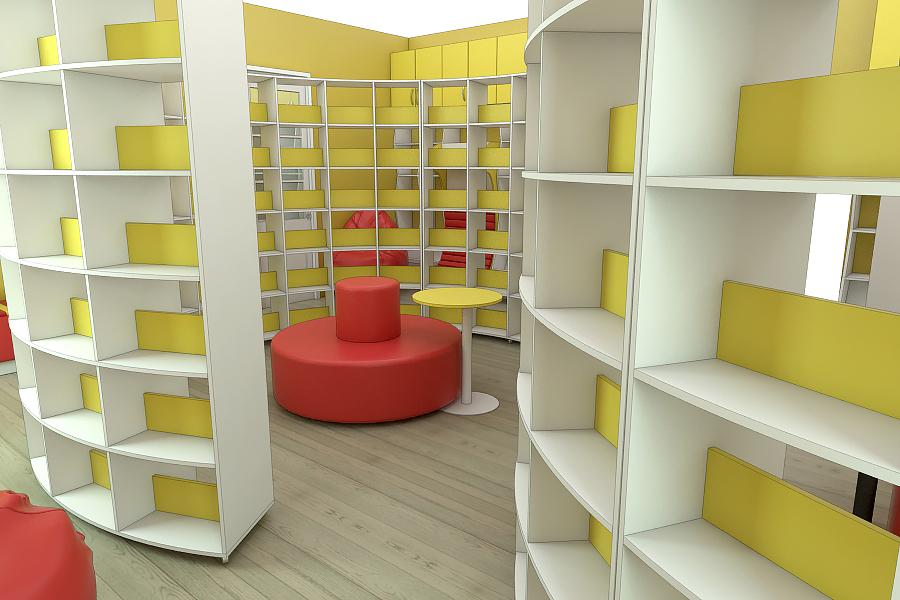 Мебель для библиотек на заказ в Украине 4