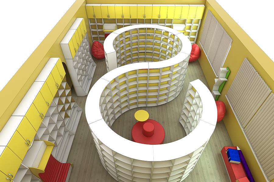 Мебель для библиотек на заказ в Украине 1
