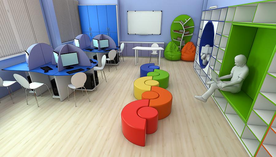 Мебель для читального зала на заказ в Украине 4
