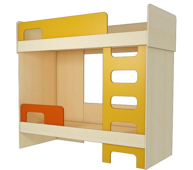 Кровать двухэтажная КД-Т