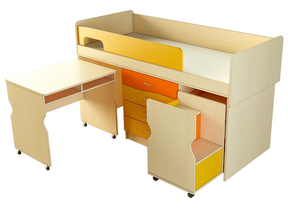 Детский мебельный комплект МК-Т стол мобильный