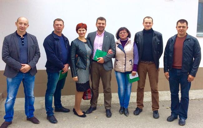 Валентин Бельский и предприниматели