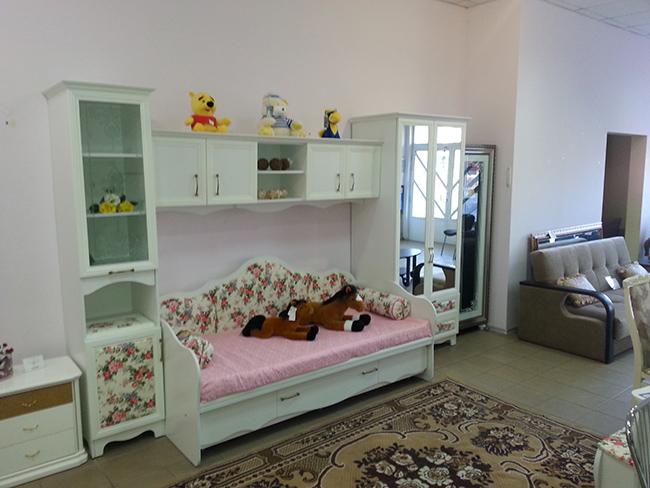 Салон мебели интерьера