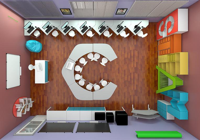Мебель для учебных заведений 3