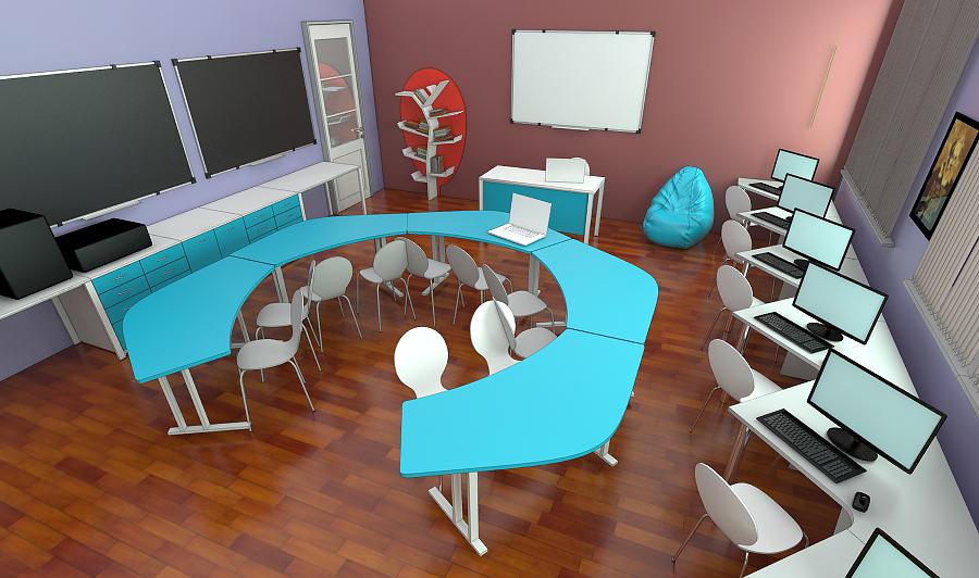 STEAM лаборатория для детей мебель 2