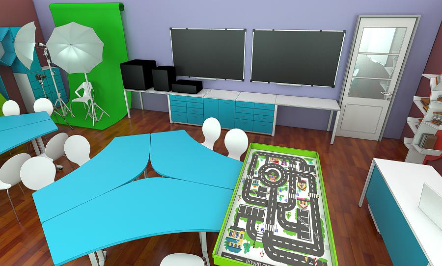 Мебель для учебных заведений 1