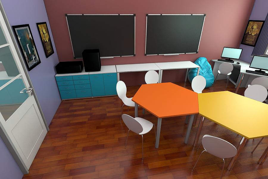 STEAM лаборатория для детей мебель 4