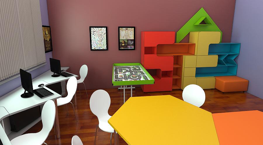 STEAM лаборатория для детей мебель 5