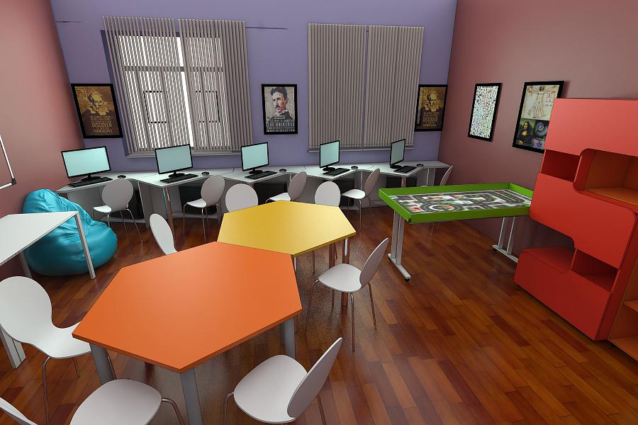 Мебель для учебных заведений 2