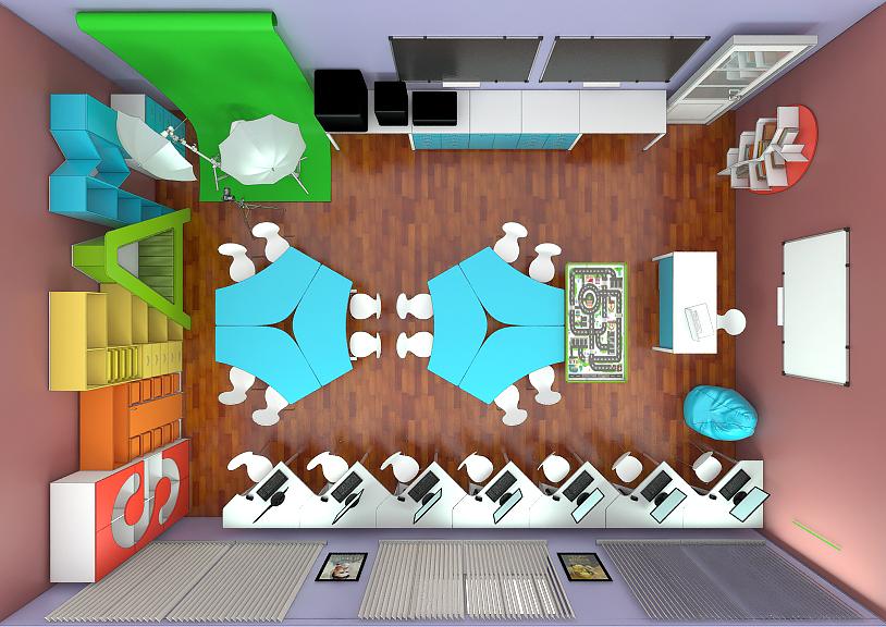 STEAM лаборатория для детей мебель 7